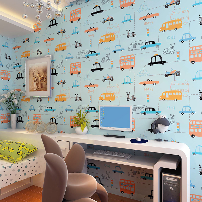 2016 New Design Kid Non Woven Wallpaper