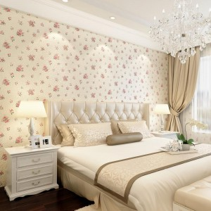 Construction method of non-woven wallpaper