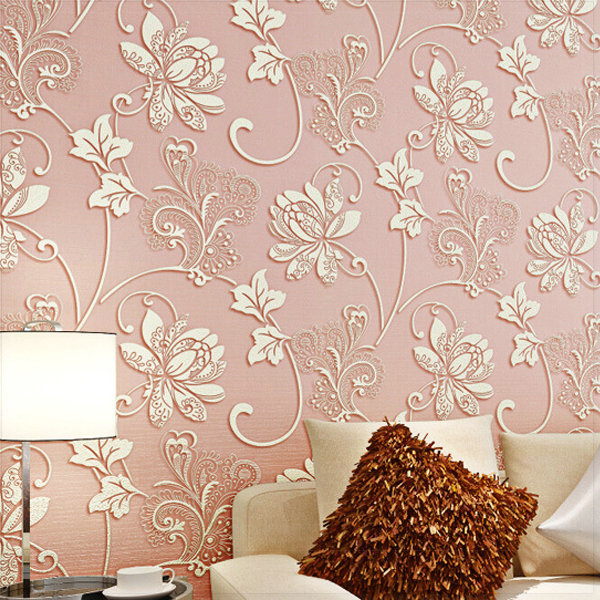 Bedroom Living Room Non-woven Wallpaper