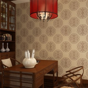 How to choose wallpaper color pattern in the end