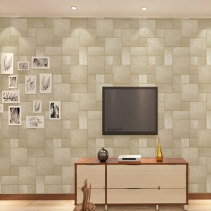Square Lattice PVC Wallpapers