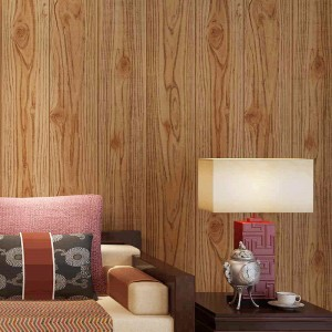 Wood Grain Wallpaper PVC 3d